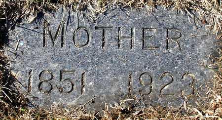 BECKWITH, MOTHER - Ida County, Iowa   MOTHER BECKWITH