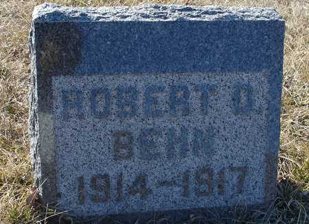 BEHN, ROBERT D. - Ida County, Iowa | ROBERT D. BEHN