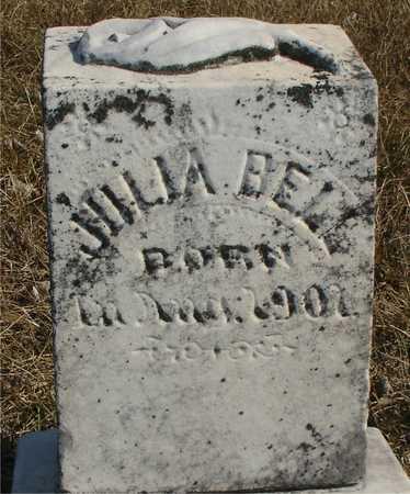 BELL, JULIA - Ida County, Iowa   JULIA BELL