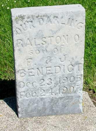BENEDICT, RALSTON O. - Ida County, Iowa | RALSTON O. BENEDICT