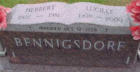 BENNIGSDORF, HERBERT & LUCILLE - Ida County, Iowa | HERBERT & LUCILLE BENNIGSDORF