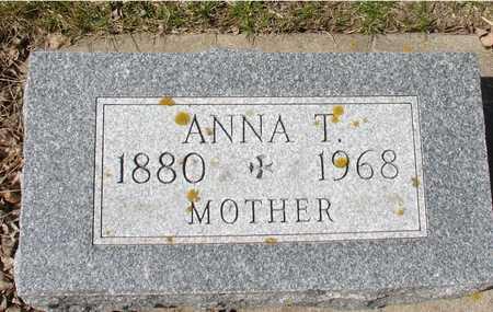 BENSON, ANNA T. - Ida County, Iowa | ANNA T. BENSON