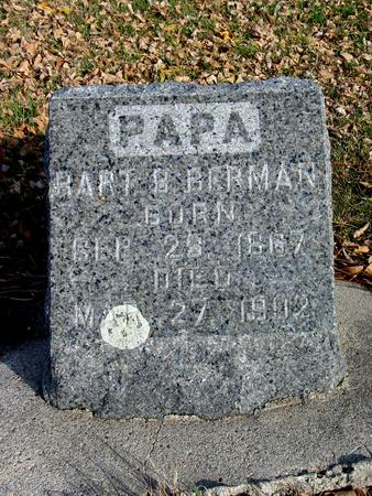 BERMAN, BART B. - Ida County, Iowa | BART B. BERMAN