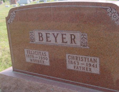 BEYER, CHRISTIAN & FELICITAS - Ida County, Iowa | CHRISTIAN & FELICITAS BEYER