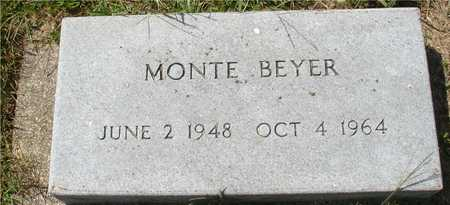 BEYER, MONTE - Ida County, Iowa | MONTE BEYER