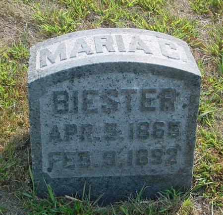 BIESTER, MARIA C. - Ida County, Iowa | MARIA C. BIESTER