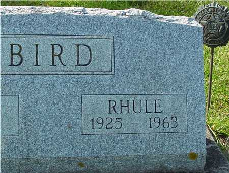 BIRD, RHULE - Ida County, Iowa | RHULE BIRD