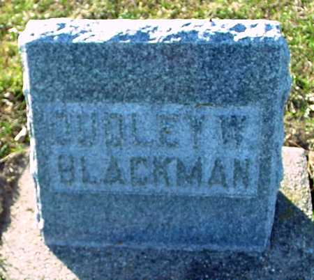 BLACKMAN, DUDLEY W. - Ida County, Iowa | DUDLEY W. BLACKMAN
