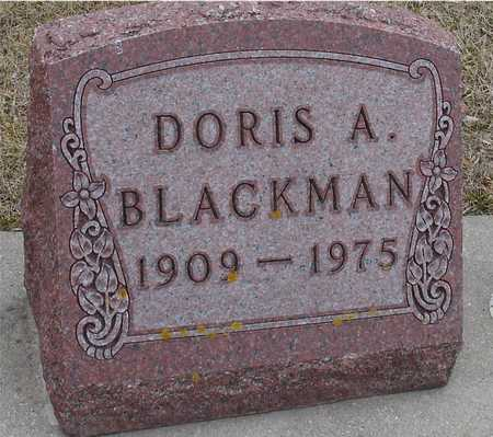 BLACKMAN, DORIS A. - Ida County, Iowa | DORIS A. BLACKMAN