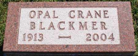 CRANE BLACKMER, OPAL - Ida County, Iowa | OPAL CRANE BLACKMER