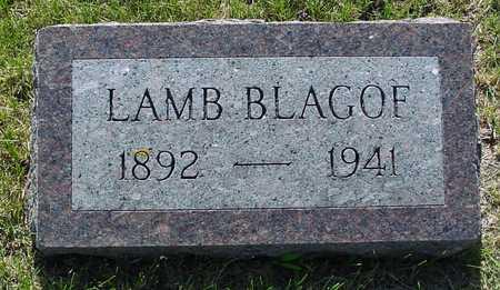 BLAGOF, LAMB - Ida County, Iowa | LAMB BLAGOF