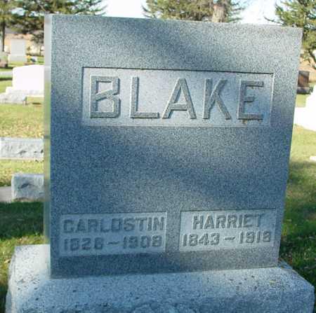 BLAKE, CARLOSTIN & HARRIET - Ida County, Iowa | CARLOSTIN & HARRIET BLAKE