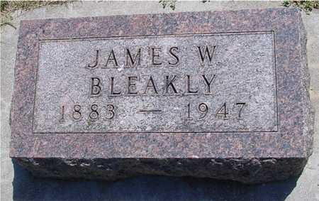 BLEAKLY, JAMES W. - Ida County, Iowa | JAMES W. BLEAKLY