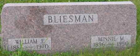 BLIESMAN, MINNIE - Ida County, Iowa | MINNIE BLIESMAN