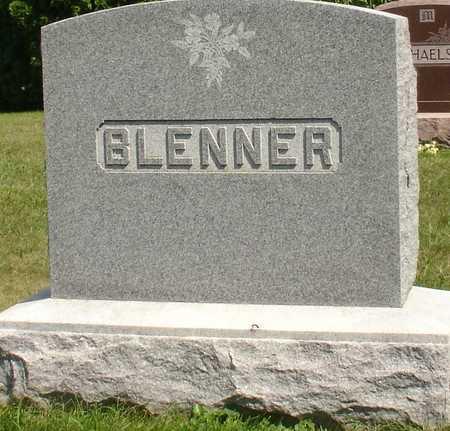 BLENNER, FAMILY MARKER - Ida County, Iowa   FAMILY MARKER BLENNER