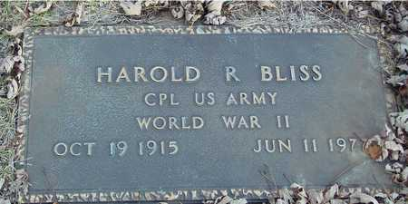 BLISS, HAROLD R. - Ida County, Iowa | HAROLD R. BLISS