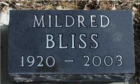 BLISS, MILDRED - Ida County, Iowa | MILDRED BLISS