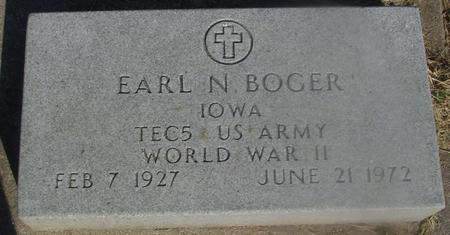 BOGER, EARL N. - Ida County, Iowa | EARL N. BOGER
