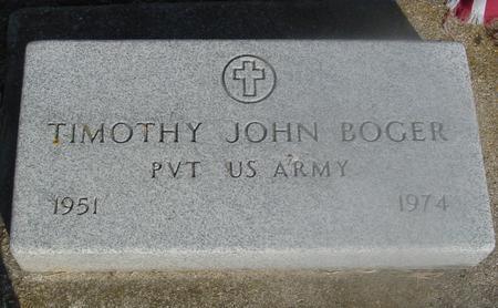 BOGER, TIMOTHY JOHN - Ida County, Iowa | TIMOTHY JOHN BOGER