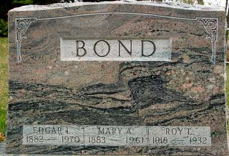 BOND, EDGAR & MARY A. - Ida County, Iowa | EDGAR & MARY A. BOND