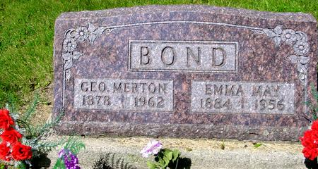 BOND, GEO. MERTON - Ida County, Iowa | GEO. MERTON BOND