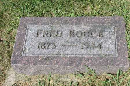 BOOCK, FRED - Ida County, Iowa | FRED BOOCK