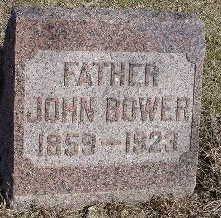 BOWER, JOHN - Ida County, Iowa | JOHN BOWER