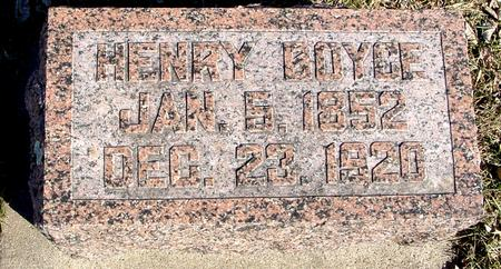 BOYCE, HENRY - Ida County, Iowa | HENRY BOYCE