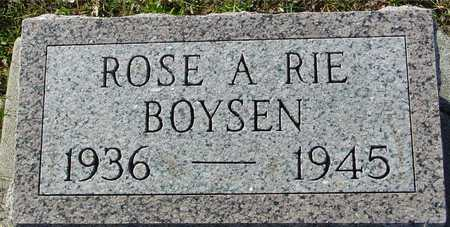 BOYSEN, ROSE A RIE - Ida County, Iowa | ROSE A RIE BOYSEN