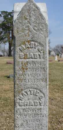 BRADY, MARY & MATTIE - Ida County, Iowa | MARY & MATTIE BRADY
