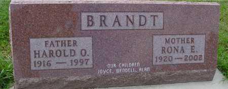 BRANDT, HAROLD & RONA - Ida County, Iowa | HAROLD & RONA BRANDT