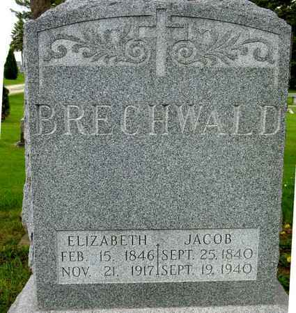 BRECHWALD, JACOB & ELIZABETH - Ida County, Iowa | JACOB & ELIZABETH BRECHWALD