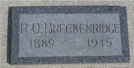 BRECKENRIDGE, R. O. - Ida County, Iowa | R. O. BRECKENRIDGE