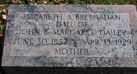 DAILEY BRESNAHAN, ELIZABETH A. - Ida County, Iowa | ELIZABETH A. DAILEY BRESNAHAN