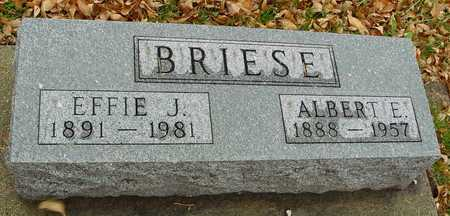 BRIESE, ALBERT & EFFIE J. - Ida County, Iowa | ALBERT & EFFIE J. BRIESE