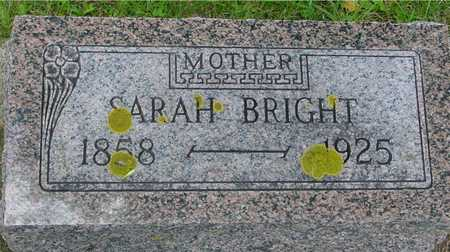 BRIGHT, SARAH - Ida County, Iowa | SARAH BRIGHT