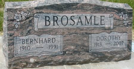 BROSAMLE, BERNHARD - Ida County, Iowa | BERNHARD BROSAMLE