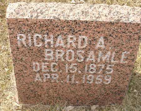 BROSAMLE, RICHARD A. - Ida County, Iowa | RICHARD A. BROSAMLE