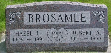 BROSAMLE, ROBERT & HAZEL - Ida County, Iowa | ROBERT & HAZEL BROSAMLE
