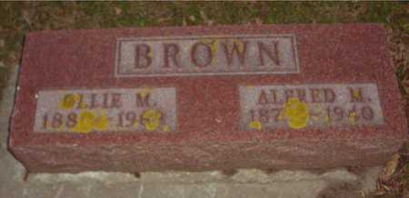 BROWN, ALFRED M. & OLLIE M. - Ida County, Iowa | ALFRED M. & OLLIE M. BROWN