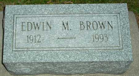 BROWN, EDWIN M. - Ida County, Iowa | EDWIN M. BROWN