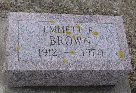 BROWN, EMMETT R. - Ida County, Iowa | EMMETT R. BROWN