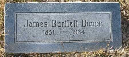 BROWN, JAMES  BARTLETT - Ida County, Iowa | JAMES  BARTLETT BROWN