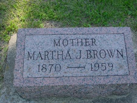 BROWN, MARTHA  J. - Ida County, Iowa | MARTHA  J. BROWN