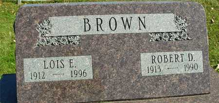BROWN, ROBERT D. & LOIS - Ida County, Iowa | ROBERT D. & LOIS BROWN