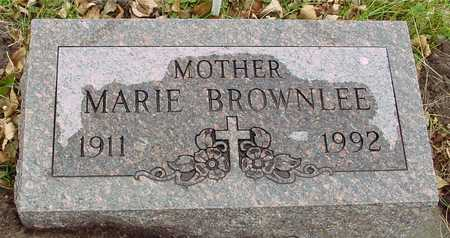 BROWNLEE, MARIE - Ida County, Iowa | MARIE BROWNLEE