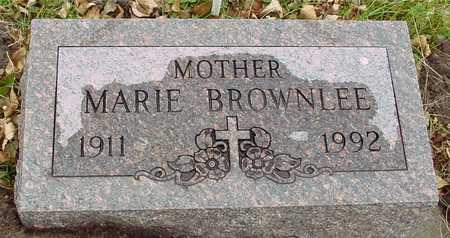 BROWNLEE, MARIE - Ida County, Iowa | MARIE BROWNLEE