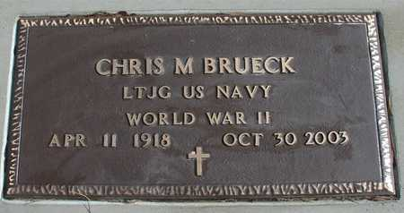 BRUECK, CHRIS M. - Ida County, Iowa | CHRIS M. BRUECK