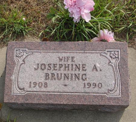 BRUNING, JOSEPHINE A. - Ida County, Iowa | JOSEPHINE A. BRUNING