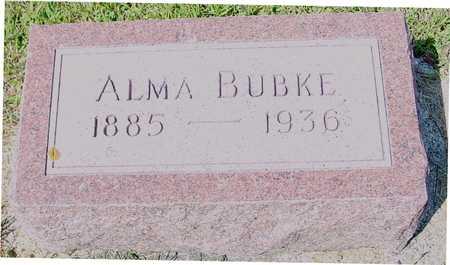 BUBKE, ALMA - Ida County, Iowa | ALMA BUBKE